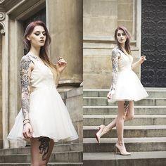 Get this look: http://lb.nu/look/8251725  More looks by Katarzyna Konderak: http://lb.nu/katepanth  Items in this look:  Dress   #artistic #minimal #romantic #primaballerina