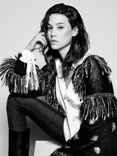 Astrid Berges Frisbey in Chanel