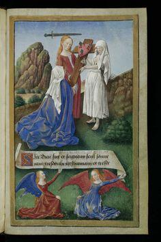 .Cologny, Fondation Martin Bodmer, Cod. Bodmer 144: René d'Anjou: Le mortifiement de vaine plaisance · vers 1470 Langue:Français (http://www.e-codices.unifr.ch/fr/list/one/cb/0144)
