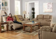 Hogan Mocha Reclining Sofa (Barnett and Brown)