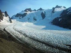 Blue Glacier and Olympus by mountainmadness_seattle, via Flickr