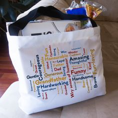 Everyone carries totes around with them, but your tote will shine when you showcase your scape on the front of it! #Retirement #Gift #Scapes #ShareScapes