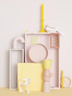 Interiors Editor & Stylist Irina Graewe  || Colours
