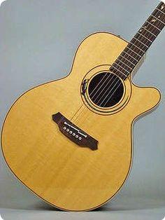 #Takamine #SantaFe #LTD97 #Gecko #Natural #Acoustic #guitar #1996