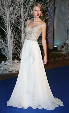 At the Centrepoints Winter Whites Gala 2013 in London. -Cosmopolitan.com
