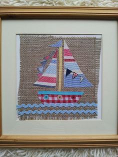 Little sail boat picture from eyecandy vintage
