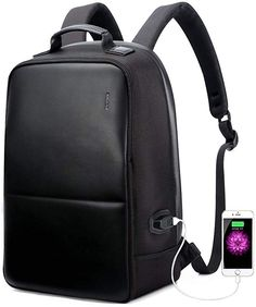 New Bopai Anti-Theft Business Backpack Inch Laptop Water-Resistant USB Port Charging Travel Backpack Anti-Glare Functional Rucksack Light-Weight Backpack Men inch, Black) online shopping - Topbrandshits Notebook Rucksack, Laptop Rucksack, Men's Backpack, Black Backpack, Backpacks For Sale, Cool Backpacks, Business Rucksack, Usb, Brown Leather Backpack