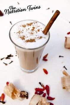 Chai Tea Latte | Your New Healthy & Delish Morning Boost | Only 78 Calories, Enjoy Energy! :) |  For MORE RECIPES please SIGN UP for our FREE NEWSLETTER www.NutritionTwins.com