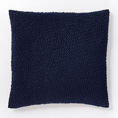 Cozy Boucle Pillow Cover - Nightshade #westelm