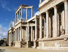 El teatro romano es una construcción típica del Imperio romano, generalizada por todas las provincias del imperio, y que tenía la finalidad de servir para la interpretación de actos teatrales del período clásico.