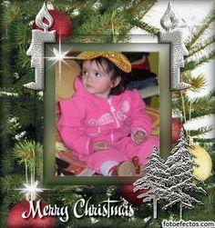 Postal de navidad personalizable con foto