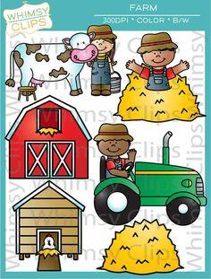 Farmer in the Dell bundle by melonheadz | My illustrations ...