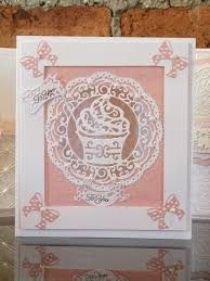 Stunning Tattered Lace Dies from the 'A Piece of Cake' Collection… Birthday Cards For Women, Women Birthday, Card Birthday, Happy Birthday, Origami, Tattered Lace Cards, Spellbinders Cards, Craft Club, Create And Craft