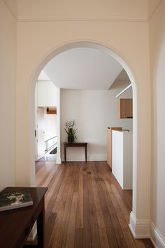 Timber flooring makes for a beautiful hallway #timberflooring #hallway
