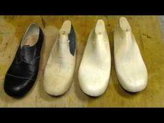Custom shoe making with Jeff Wan. Shoe last - Part 1. - YouTube