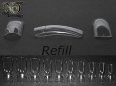 NT Clear Tips Refill 500-pack : Nail Technology, nagelprodukter för professionellt bruk!