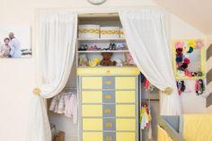 Nursery Closet - #storage #organization #nursery