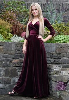 Customized Nice With Sleeves Sexy Prom Dress,Backless Prom Dresses,Long Sleeve Evening Dress,Formal Evening Dress,Wine Red Prom Dresses Long Sleeve Evening Dresses, Prom Dresses Long With Sleeves, Backless Prom Dresses, Formal Evening Dresses, Elegant Dresses, Vintage Dresses, Evening Gowns, Maxi Dresses, Party Dresses