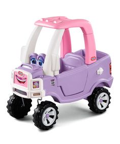 Little Tikes Princess Cozy Coupe TRUCK Kids Riding Toy RIDE ON CAR 614798 Zechariah ESV / And the streets of the city shall be full of boys and girls playing in its streets. Little Tikes, Toddler Toys, Kids Toys, Baby Toys, Children Play, Toddler Girls, Baby Girls, Pink Truck, 2 Year Old Girl