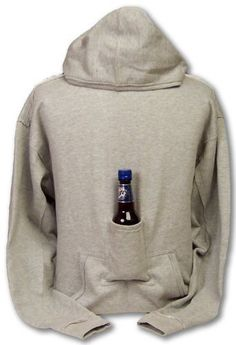 Beer Hoodie Sweatshirt with Beer Pouch. hahaha i want to get this for my guy friends! Looks Style, Looks Cool, My Style, Gifts For Beer Lovers, Beer Gifts, Whiskey Gifts, Just Beauty, I Feel Pretty, Mode Outfits