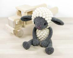 PATTERN: Sheep Amigurumi lamb Crochet tutorial with photos
