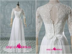 Hey, I found this really awesome Etsy listing at https://www.etsy.com/listing/214101478/rw486-lace-wedding-dress-with-pearls-a