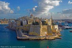 The beautiful fortified city of Senglea. Malta