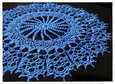 'ROSA' -Doilies With a Twist by Patricia Kristoffersen-   #crochet #lace #doilies