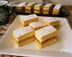 Sweets Recipes, Cake Recipes, Biscuits, Thing 1, Food Cakes, Cakes And More, Vanilla Cake, Food And Drink, Cookies