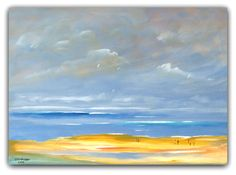 Acryl/Leinwand 50 cm x 70 cm x 1,5 cm Preis 470,- Euro  Strandspaziergang