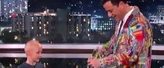 Jimmy Kimmel Donates 'Suit Of The Loom' To Help A 7-Year-Old Fight Pediatric Cancer