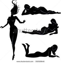 Sexy Silhouette Set-Variations of isolated woman silhouettes Silouette Photography, Boudoir Photography Poses, Boudoir Photos, Silhouette Art, Woman Silhouette, Picture Poses, Photo Poses, Transférer Des Photos, Mon Combat