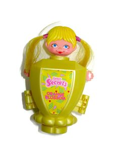 Sweet Secrets orange blossom cologne 1980s 80s toy