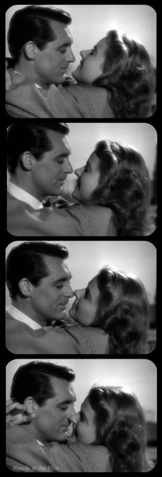 Notorious: Cary Grant and Ingrid Bergman THE BEST KISS EVER