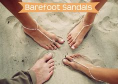 SOMETHiNG MONUMENTAL: How to Make Barefoot Sandals, Ann- I could make these.