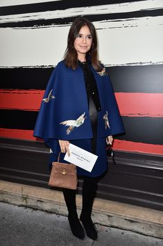 Miroslava Duma Photos: Front Row at Sonia Rykiel