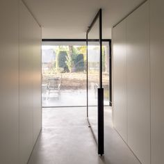 Create timeless masterpieces with our popular crittall style pivot doors, fixed partitions and sliding doors. House Design, House, Home, Pivot Doors, Glass Door, New Homes, Crittall, Room Divider Doors, Doors