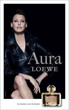 Linda Evangelista for Loewe Aura Fragrance