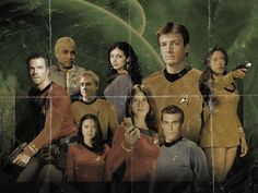 Firefly crew as Star Trek crew