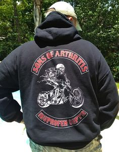 Sons of Arthritis now has a sweatshirt!