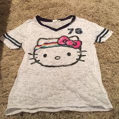 Hello kitty t shirt Cozy t shirt hello kitty Hello Kitty Tops Tees - Short Sleeve