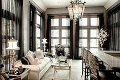 With decades of experience, professional memberships and certifications, and vast portfolios of both residential and commercial design work, our team of designers bring expertise and skill to every project. Window Drapes, Window Coverings, Window Treatments, Curtains, Custom Drapes, Custom Windows, Easy Dinner Recipes, Easy Meals, Drapery Styles
