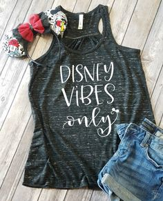 Disney Vibes Only Flowy Tank Top