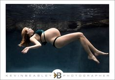 Underwater maternity shoot. I really love the uniqueness of this.        #Photography