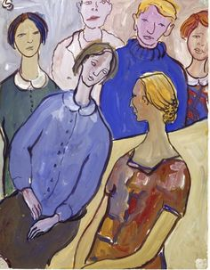 Charlotte Salomon (Berlino, 1917 – Auschwitz, 1943) - Leben? oder Theater? - 1940-1942 - Joods Historisch Museum di Amsterdam