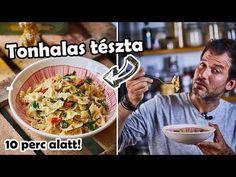 Zé-féle tonhalas tészta - YouTube