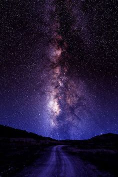 "The Milky Road, Ft. Davis, Texas (""the darkest spot in North America"") (via 500px / Photo ""The Milky Road"" by Larry Landolfi)"