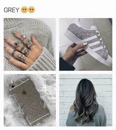 Blue Aesthetic Pastel, Gray Aesthetic, Color Collage, Hair Decorations, Girly Quotes, Iphone Phone Cases, Grey Fashion, Black Love, Cool Eyes