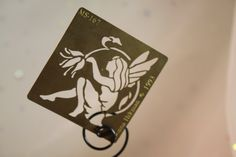 Fairy and Flower Brass Stencil American Traditional by theartlyons, $6.00