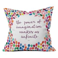 I discovered this DENY Designs Garima Dhawan Imagination Outdoor Throw Pillow | www.hayneedle.com on Keep. View it now.